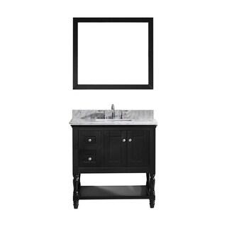 Julianna 36-inch Single Bathroom Vanity Cabinet Set in Espresso