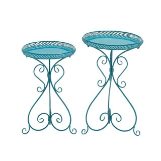 Gorgeous Metal Plant Stand (Set of 2)