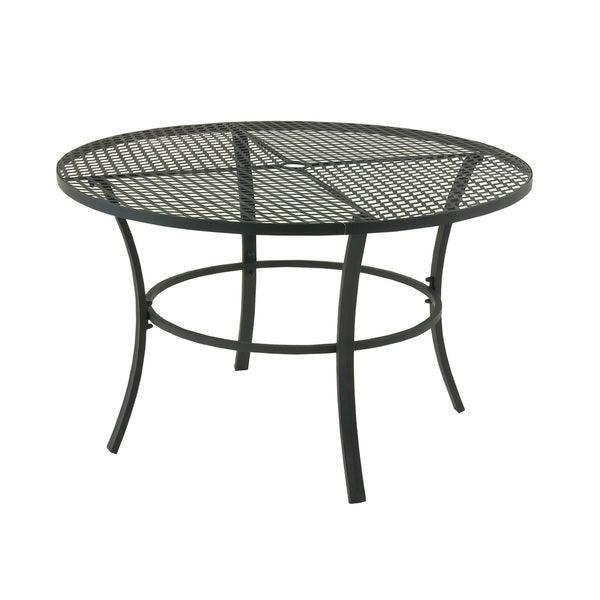 Metal Round Outdoor Table 17289224 Overstock Com