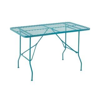 Striking Metal Folding Outdoor Table
