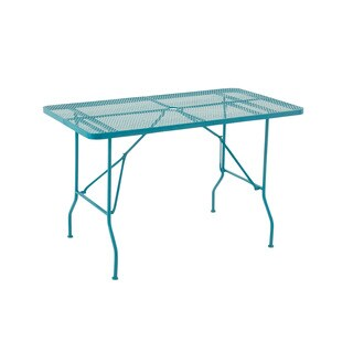 Marvelously Styled Metal Folding Outdoor Table