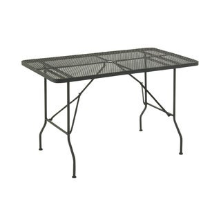 Durable Metal Folding Outdoor Table
