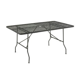 Brilliantly Styled Metal Folding Outdoor Table