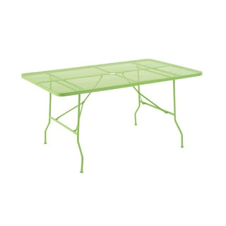 Excellently Styled Metal Folding Outdoor Table