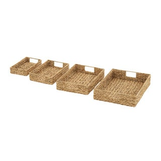 Amazing Sea Grass Baskets (Set of 4)