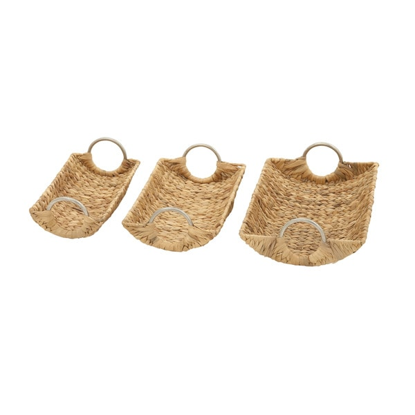 Extraordinary Sea Grass Baskets (Set of 3)