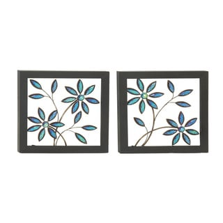 Outstanding Metal LED Wall Plaque (Set of 2)