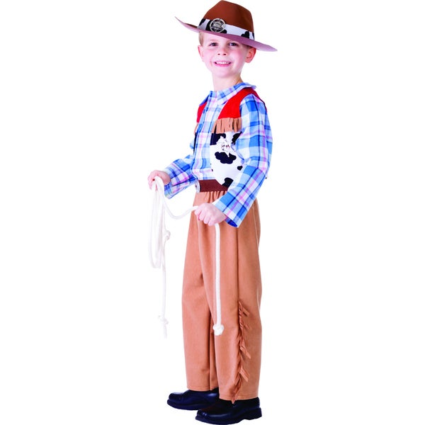 Dress Up America Boys' Cowboy Costume