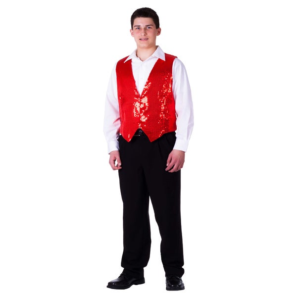 Dress Up America Men's Sequin Vest