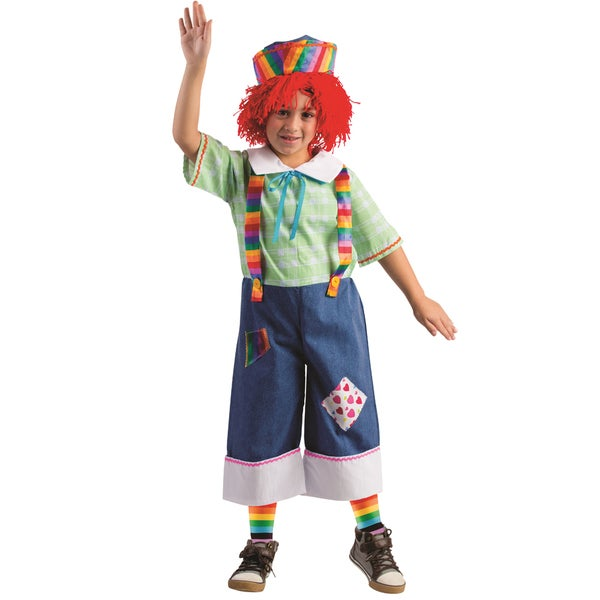 Dress Up America Boys' Rainbow Rag Costume