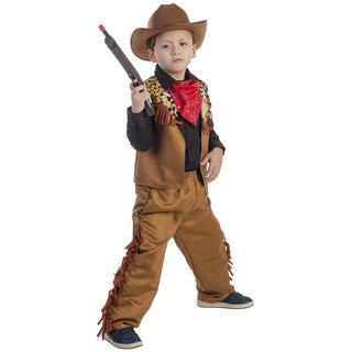 Dress Up America Boys' Wild Western Cowboy Costume