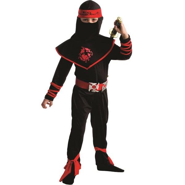 Dress Up America Boys' Ninja Warrior Costume