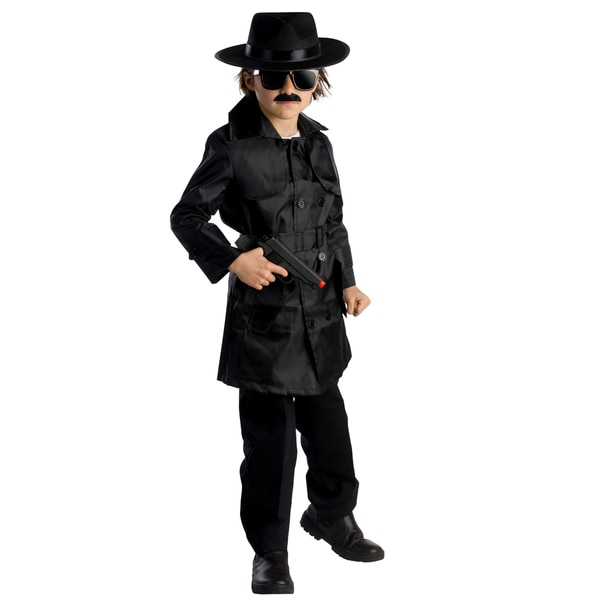 Dress Up America Boys Spy Agent Costume 17289581