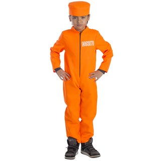 Dress Up America Boys' Prisoner Costume