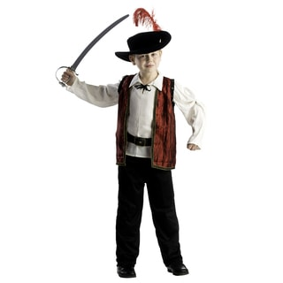 Dress Up America Boys' Courageous Musketeer Costume