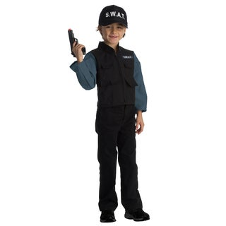 Dress Up America Boys' SWAT Team Role Play Set Costume
