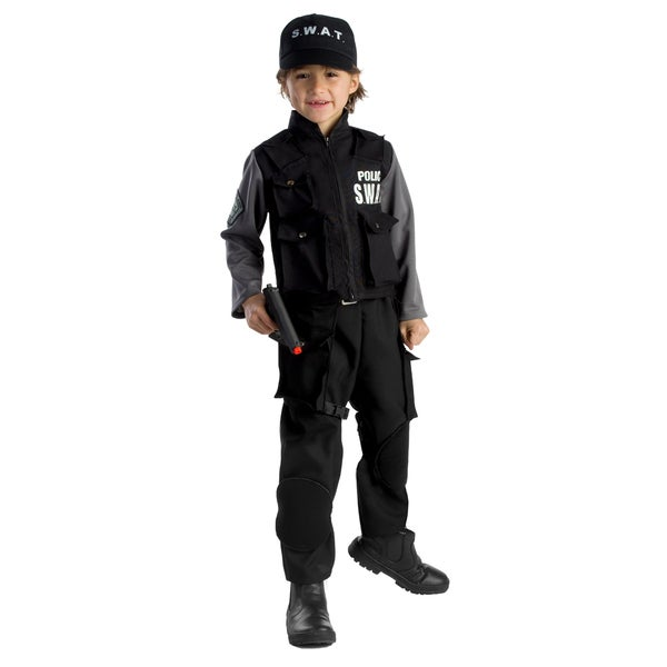 Dress Up America Boys Jr Swat Team Costume