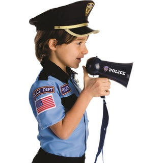 Dress Up America Boys' Police Megaphone