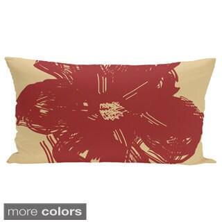 14 x 20-inch Buddha Print Outdoor Decorative Pillow