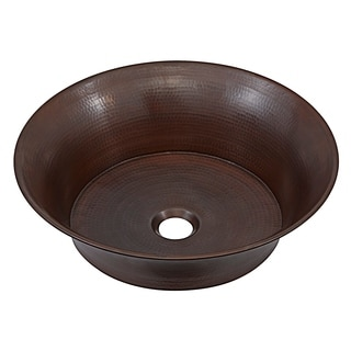 Sinkology Copernicus 16-inch Above Counter Handmade Copper Vessel Sink