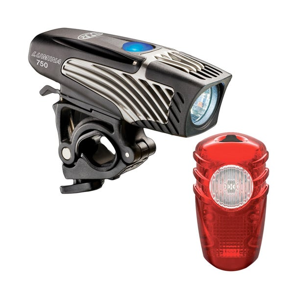 NiteRider Lumina 750 Headlight and Solas Taillight Combo