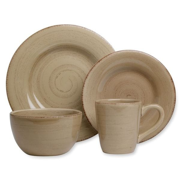 Tag Sonoma Tan Dinnerware 16-piece Set