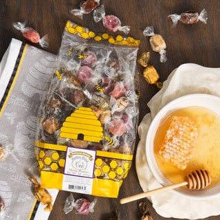 Queen Bee Gardens Beehive Blend Caramel Chew Variety Bag (1 Pound)