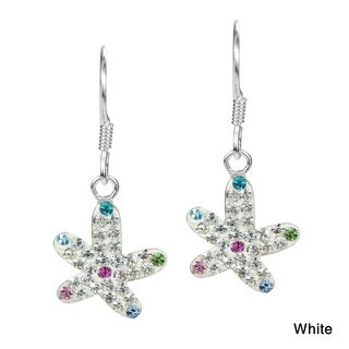 Star in the Sea Crystal Encrusted .925 Silver Earrings (Thailand)