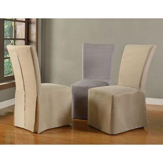 Slipcovered Fan Back Dining Chair (Set of 2)