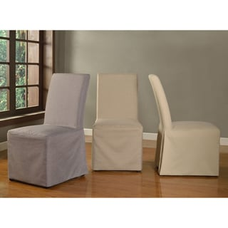Slipcovered Low Back Dining Chair (Set of 2)
