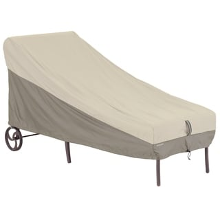 Classic Accessories Belltown Grey Patio Chaise Cover