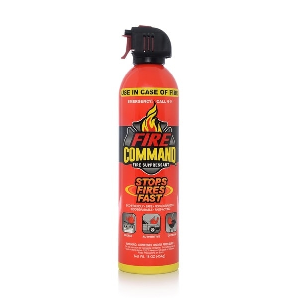 Fire Command Fire Suppresant 16-ounce Aerosol Spray (Pack of 2)