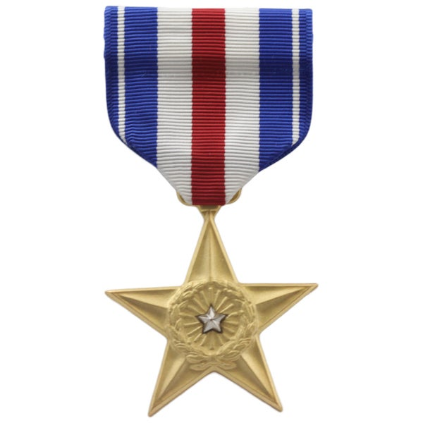 Silver Star Medal 17289835 Overstock Com Shopping