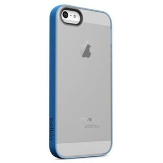 Belkin Grip Candy Sheer Blue/ Smoke Phone Case For Apple iPhone 5/ 5S