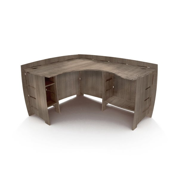Legare Furniture Grey Driftwood L Shape Corner Desk 60 Quot X