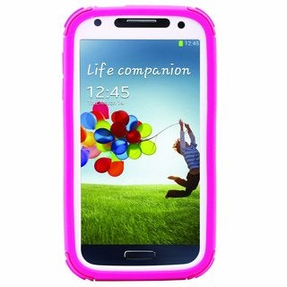 Body Glove ToughSuit Raspberry/ White Phone Case for Samsung Galaxy S4