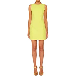 Halston Heritage Women's Silk Day Dress