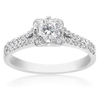 SummerRose 14k White Gold 3/4ct TDW Diamond Fashion Ring (H-I, SI1-SI2)