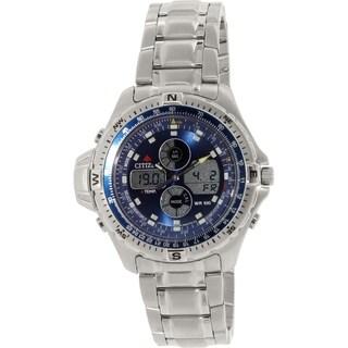 Citizen Men's JS1040-51L Silver Stainless-Steel Quartz Watch