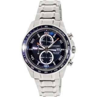 Citizen Men's CA0346-59L Silver Titanium Eco-Drive Watch