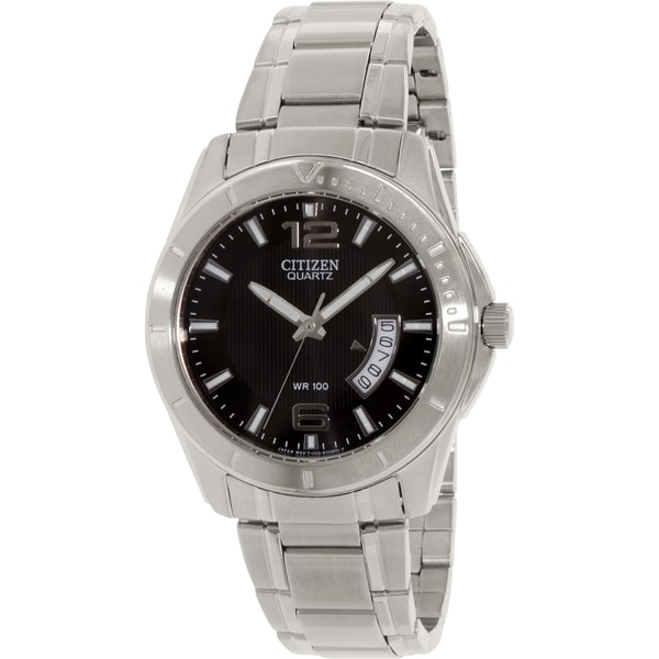 Citizen Men's BI0970-53E Silver Stainless-Steel Quartz Watch