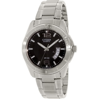 Citizen Men's BI0970-53E Silver Stainless-Steel Quartz Watch