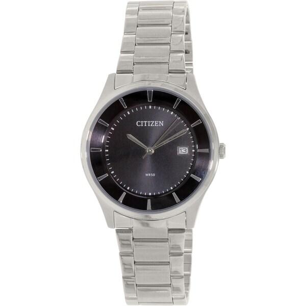 Citizen Men's BD0040-57E Silver Stainless-Steel Quartz Watch