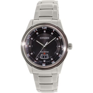 Citizen Men's AW1274-63E Silver Stainless-Steel Eco-Drive Watch