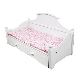 Teamson Kids My Sweet Girl 18-inch Doll Trundle Bed