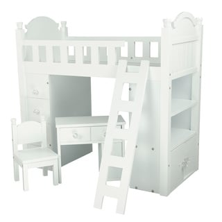 Teamson Kids My Sweet Girl 18-inch Doll Bunk Bed