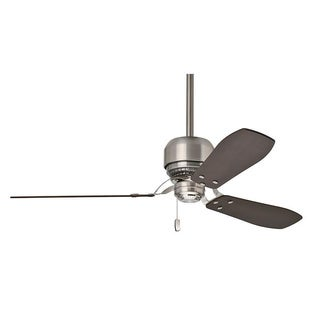 Casablanca 52-inch Tribeca Brushed Nickel 3-blade Ceiling Fan