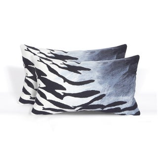 Playa Indoor/Outdoor 12 x 20 inch Throw Pillow (set of 2)
