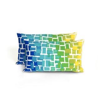 Scales Indoor/Outdoor 12 x 20 inch Throw Pillow (set of 2)