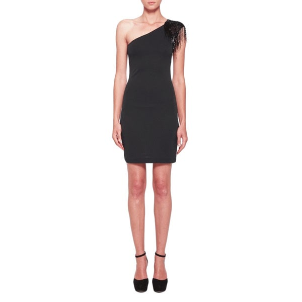 Halston Heritage Single Shoulder Dress